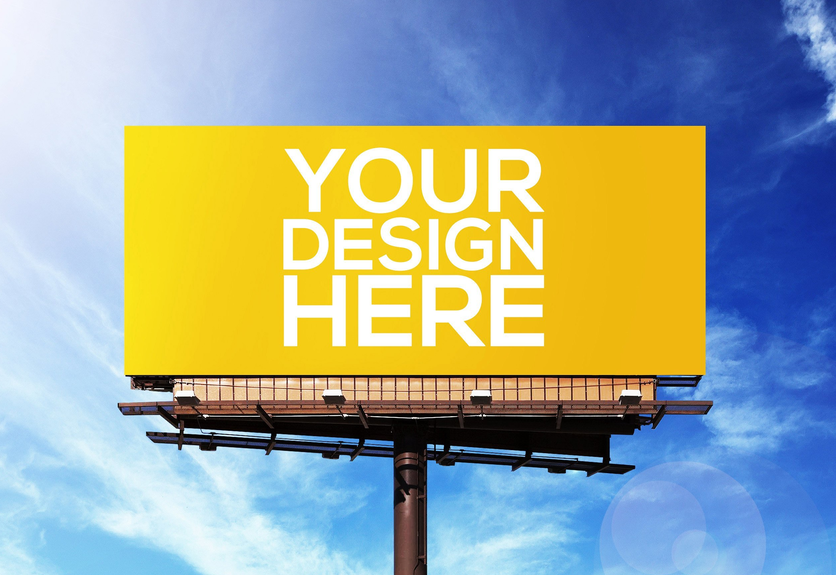 35 outdoor advertising billboard signage psd mockup