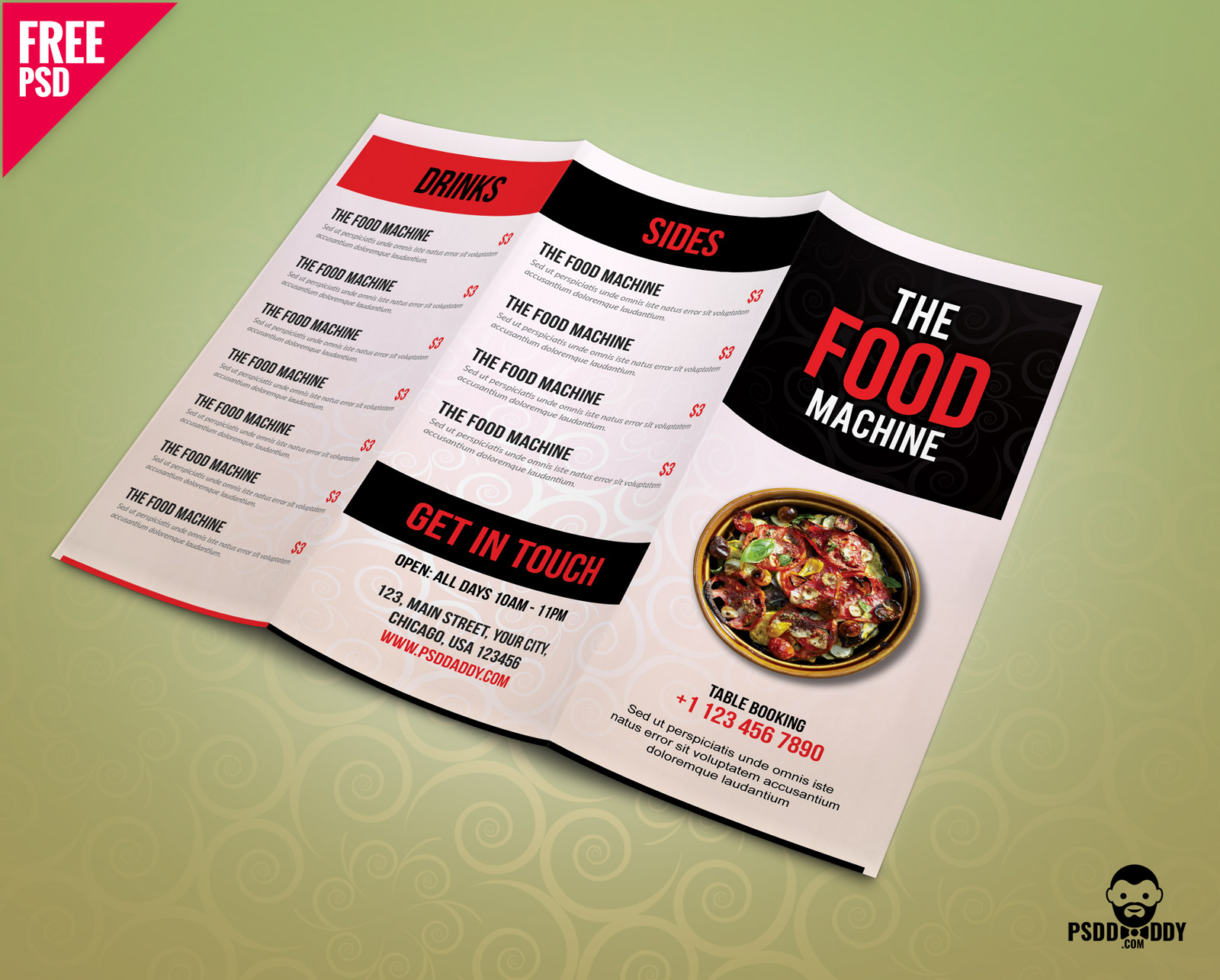 40 Restaurant Food Menu Design Psd Templates Decolore