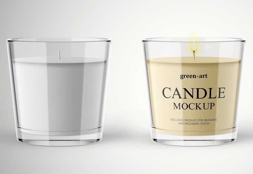 20 Awesome Candle Psd Mockup Templates Decolore Net