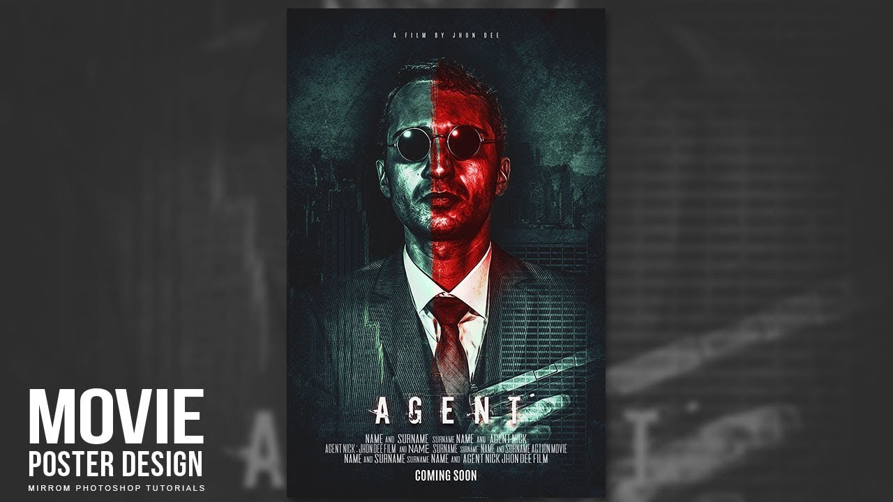 30 photoshop tutorials to learn essential techniques decolore in this video tutorial we will make a creative movie poster with dark color and red tone using photoshop cc at the end of this tutorial i hope you find a baditri Gallery
