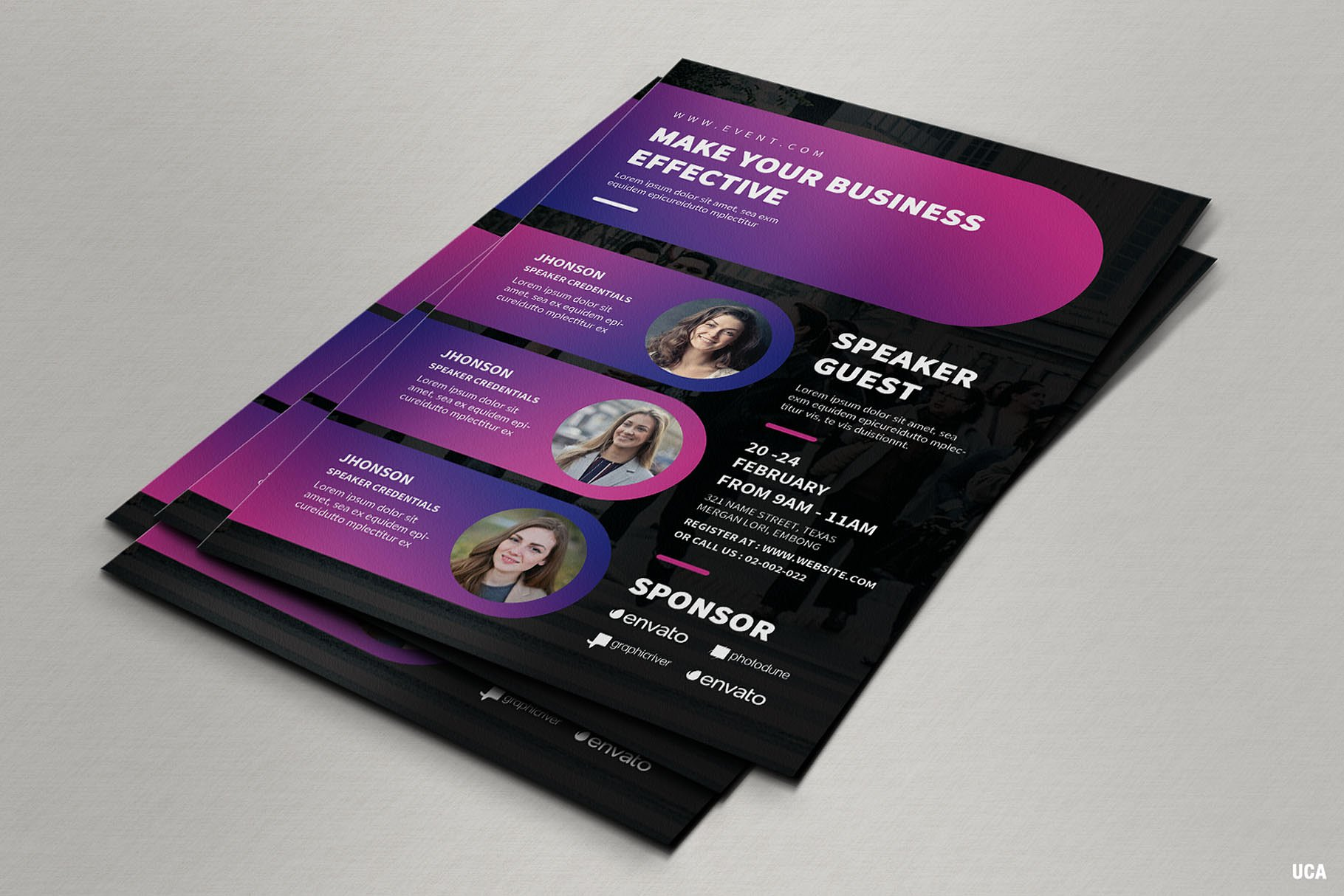65 creative flyer templates for corporate business decolore net