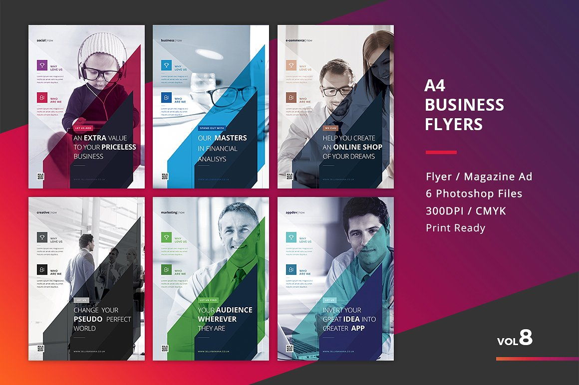 65 creative flyer templates for corporate business decolore corporate flyer templates 6 psd accmission
