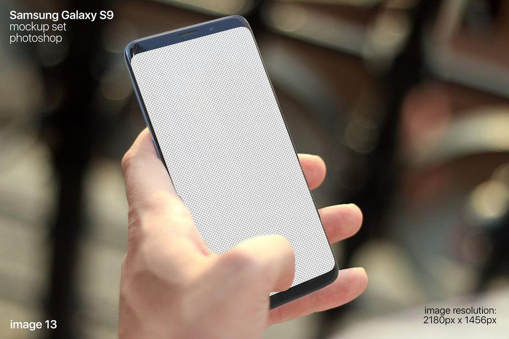 50+ Samsung Galaxy S9 / S9+ Mockup Templates | Decolore Net