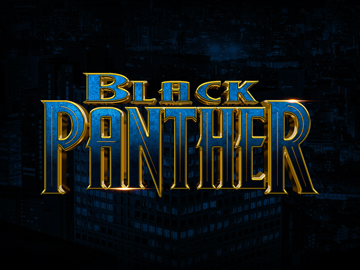 30 handsome free text effect photoshop tutorials decolore how to create black panther text effect in photoshop tutorial baditri Image collections