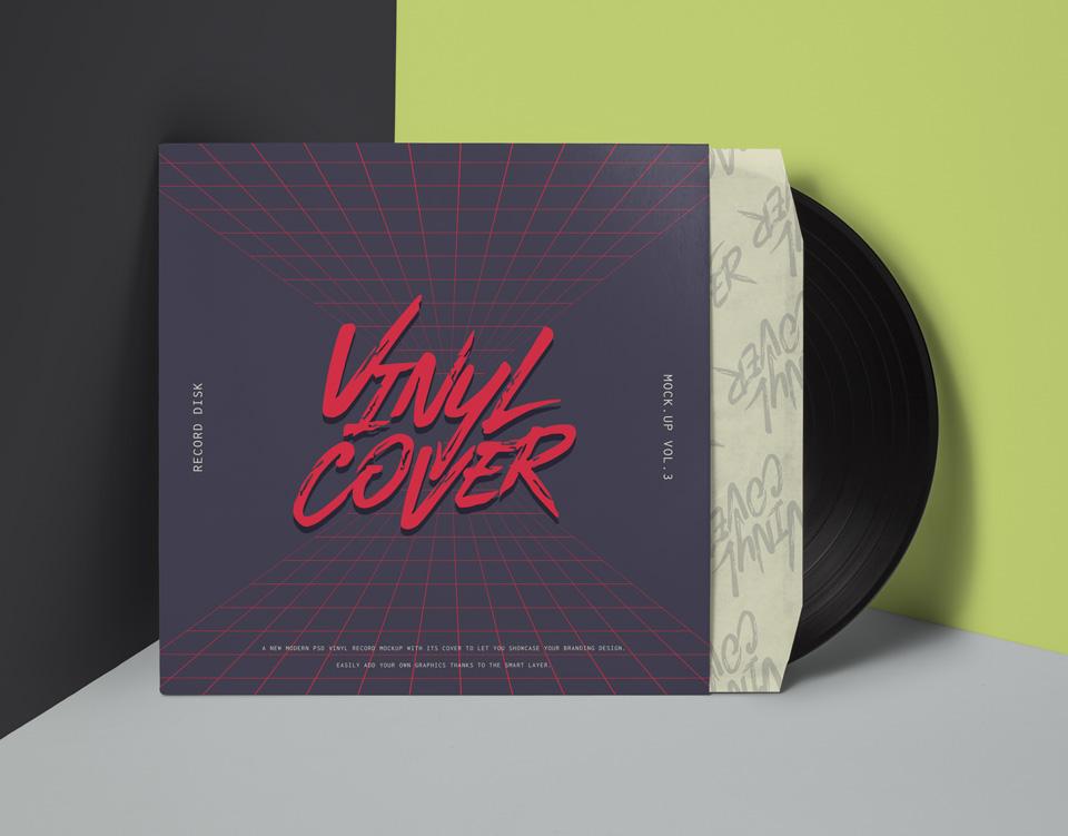 30  vinyl record cover  u0026 sleeve mockups