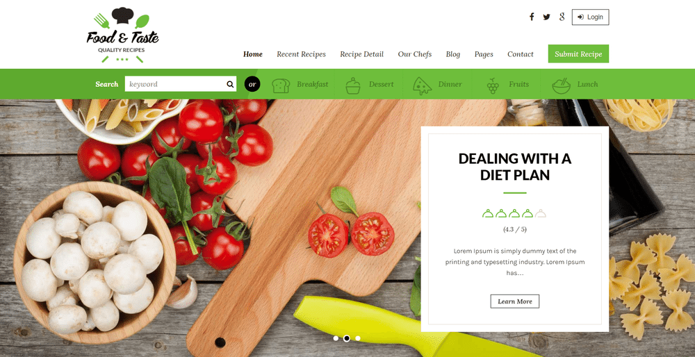 25 best food recipe wordpress themes for tasty business recipepress is a premium wordpress theme for recipes and other food related websites it has various home page variations with 15 independent section forumfinder Image collections