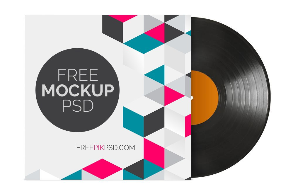 30 Vinyl Record Cover Amp Sleeve Mockups Decolore Net