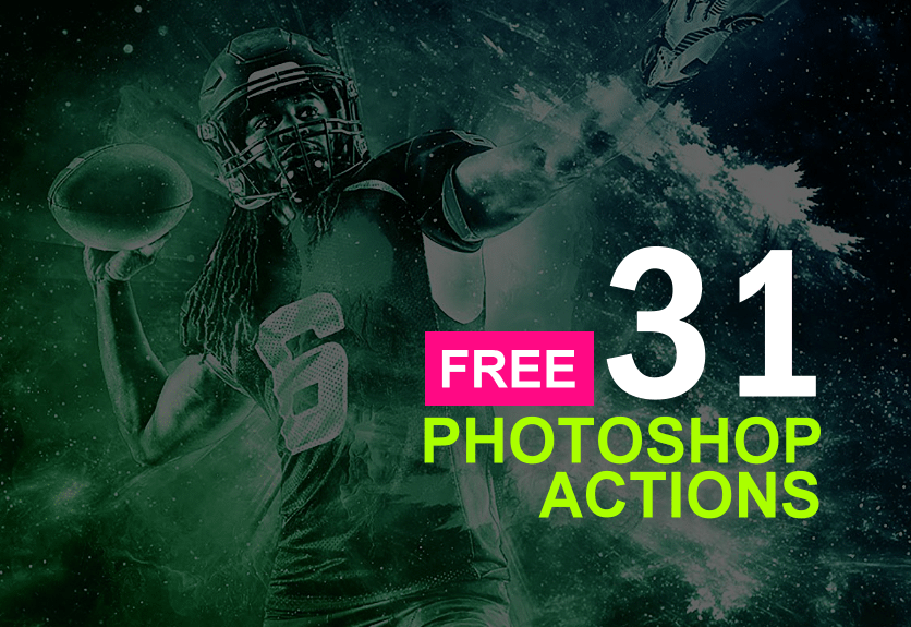 free photoshop actions for graphic designers