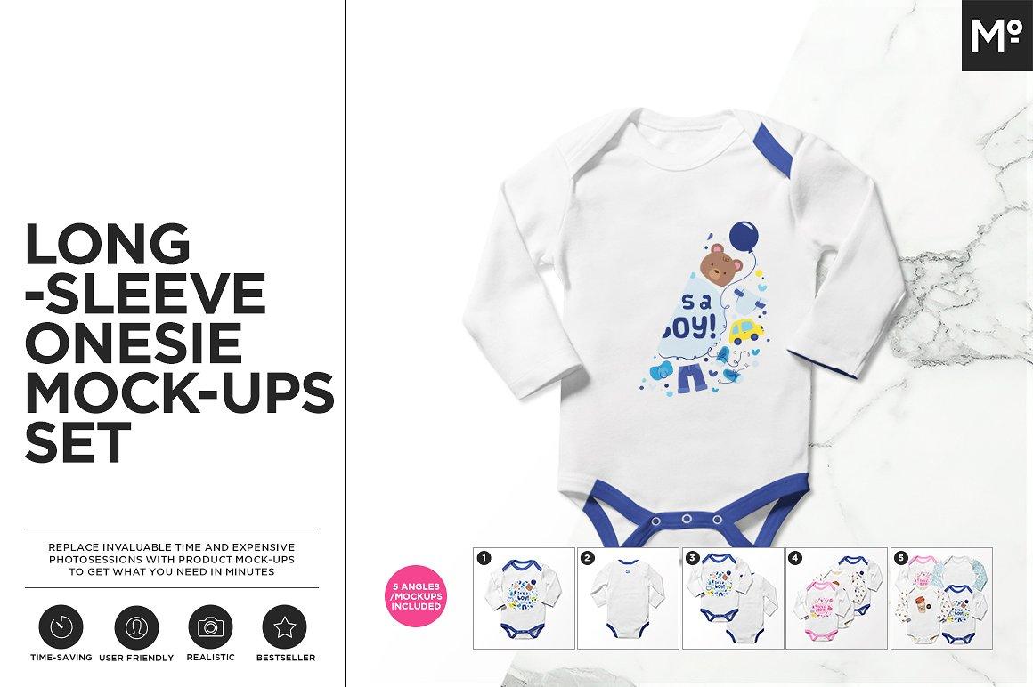 25 Baby Onesie Bodysuit Psd Mockups Decolore Net