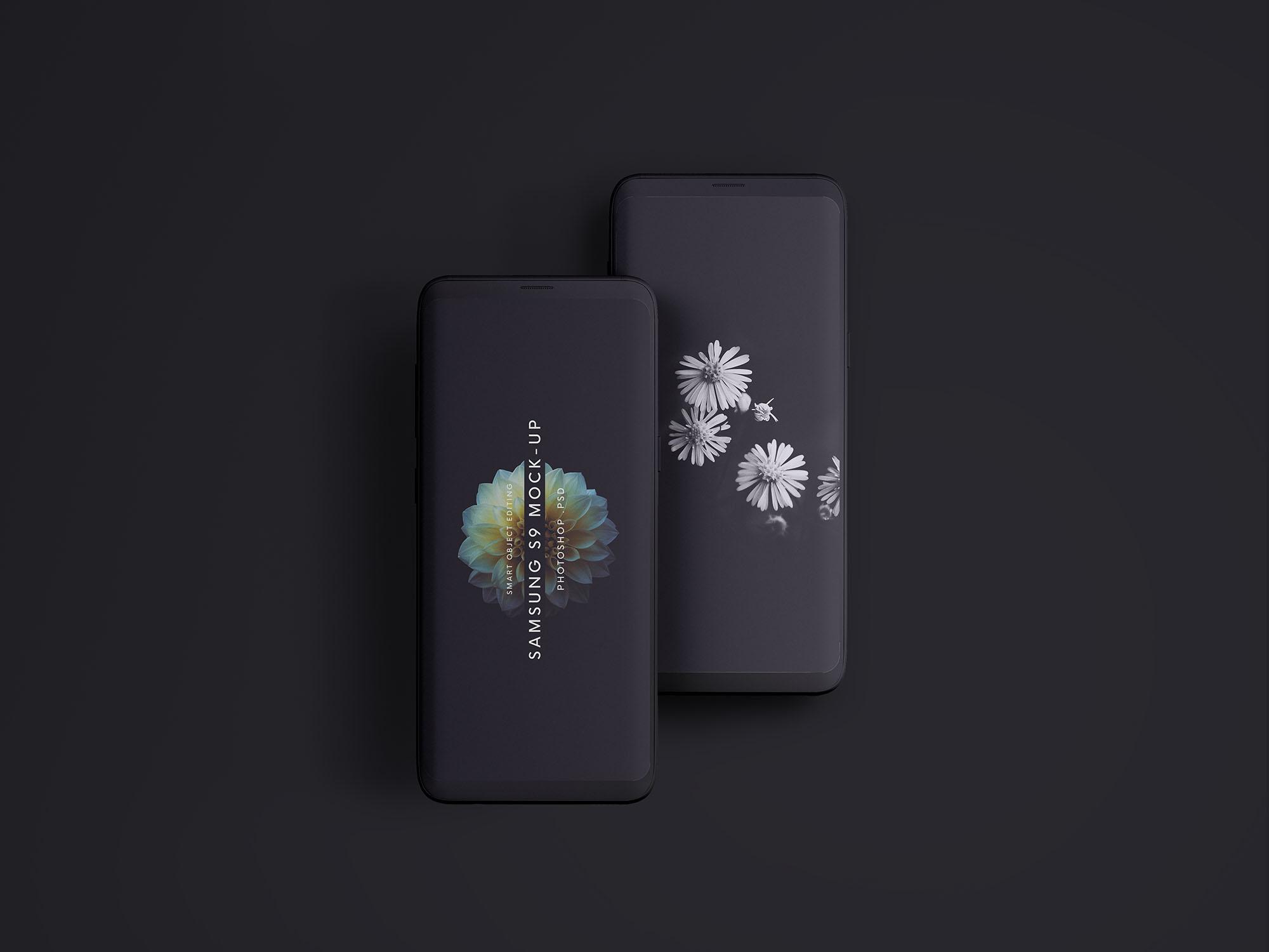 50+ Samsung Galaxy S9 / S9+ Mockup Templates   Decolore Net