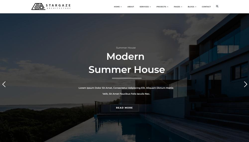 20+ Creative WordPress Themes for Architecture & Interior Design ...