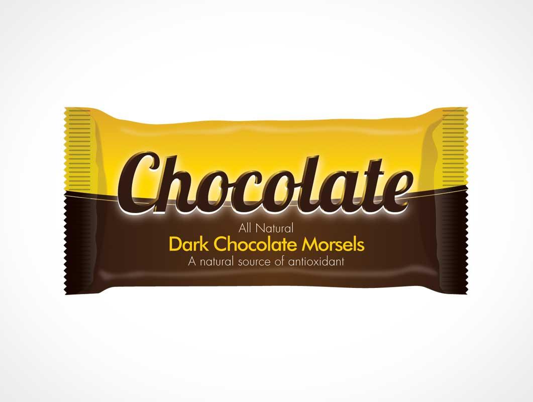 30  chocolate bar packaging psd mockups
