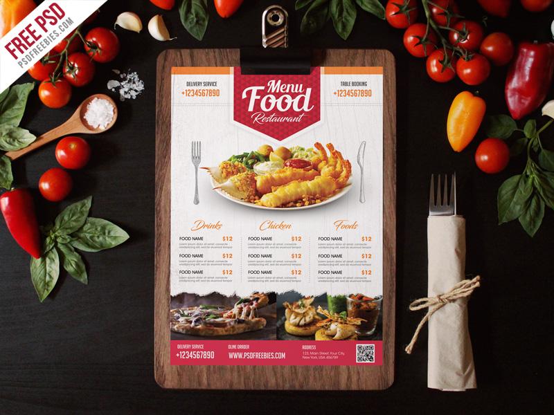 30 delicious food restaurant flyer poster templates decolore net