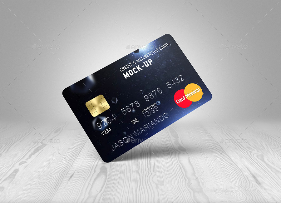 40 Excellent Credit Card Psd Mockup Templates Decolore Net
