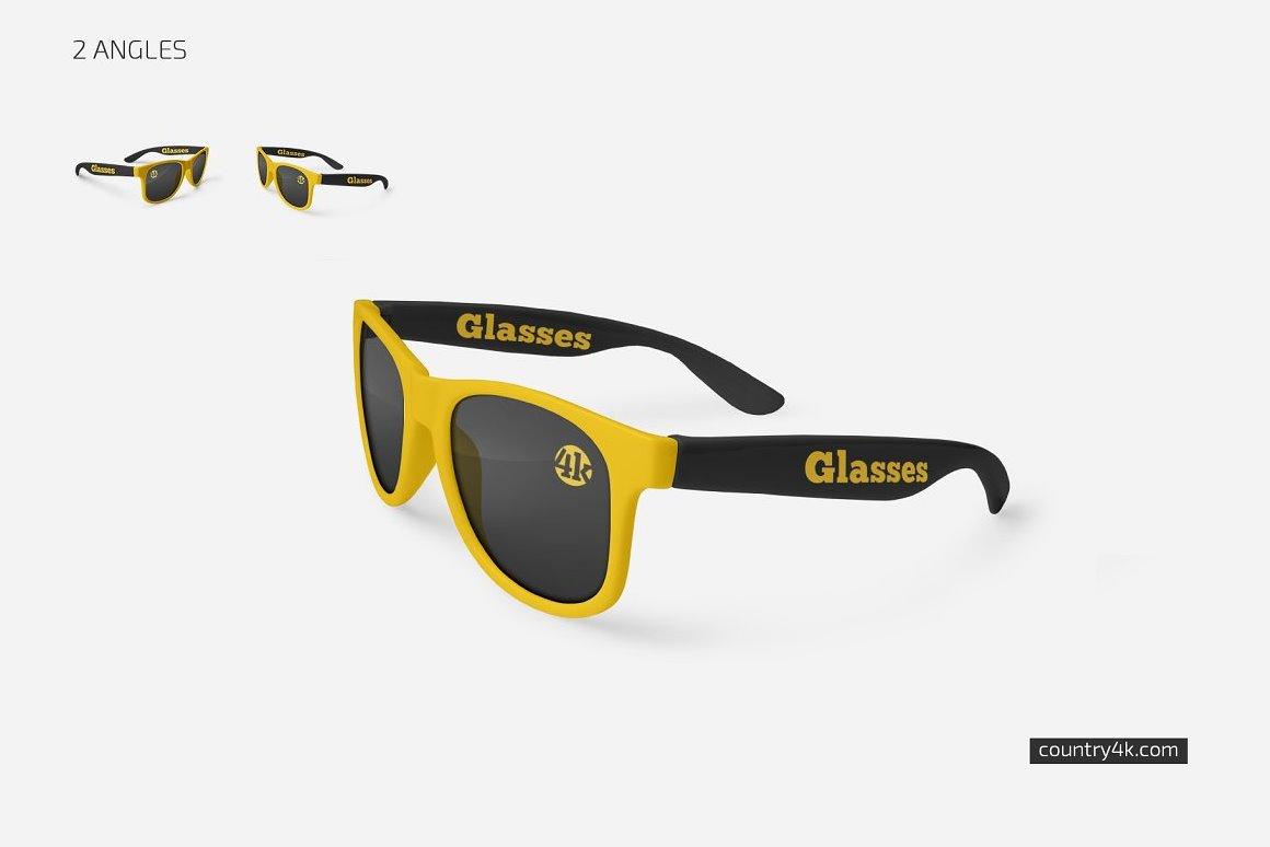 glasses-mockup-set