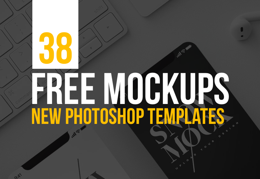 Download Andrii Gapon PSD Mockup