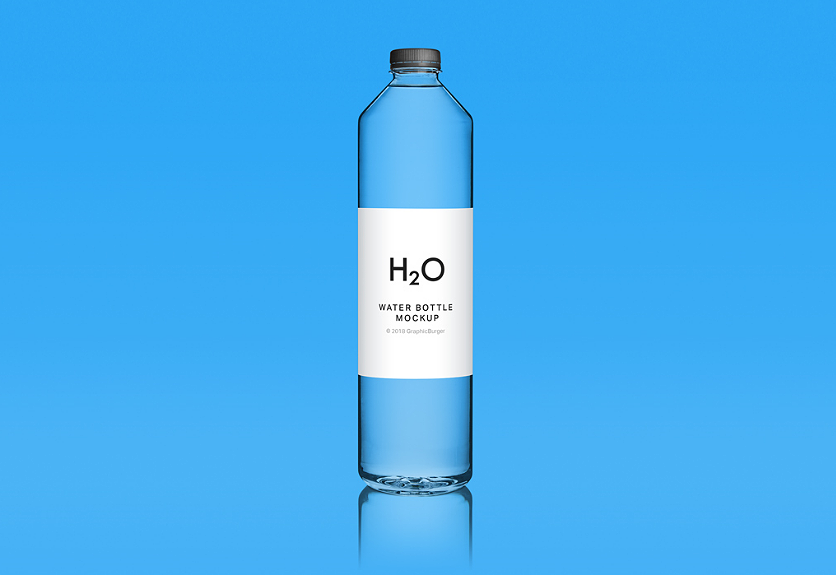 25  realistic water bottle mockup templates