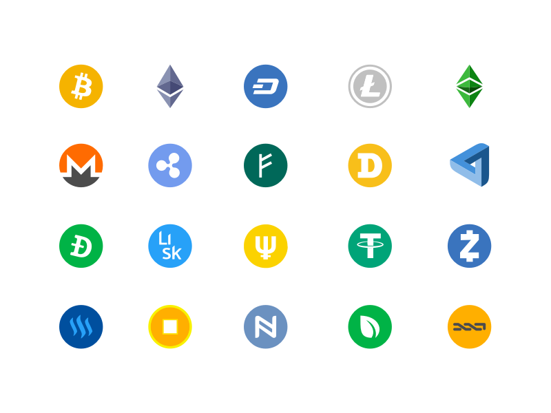 cryptocurrency coin logo