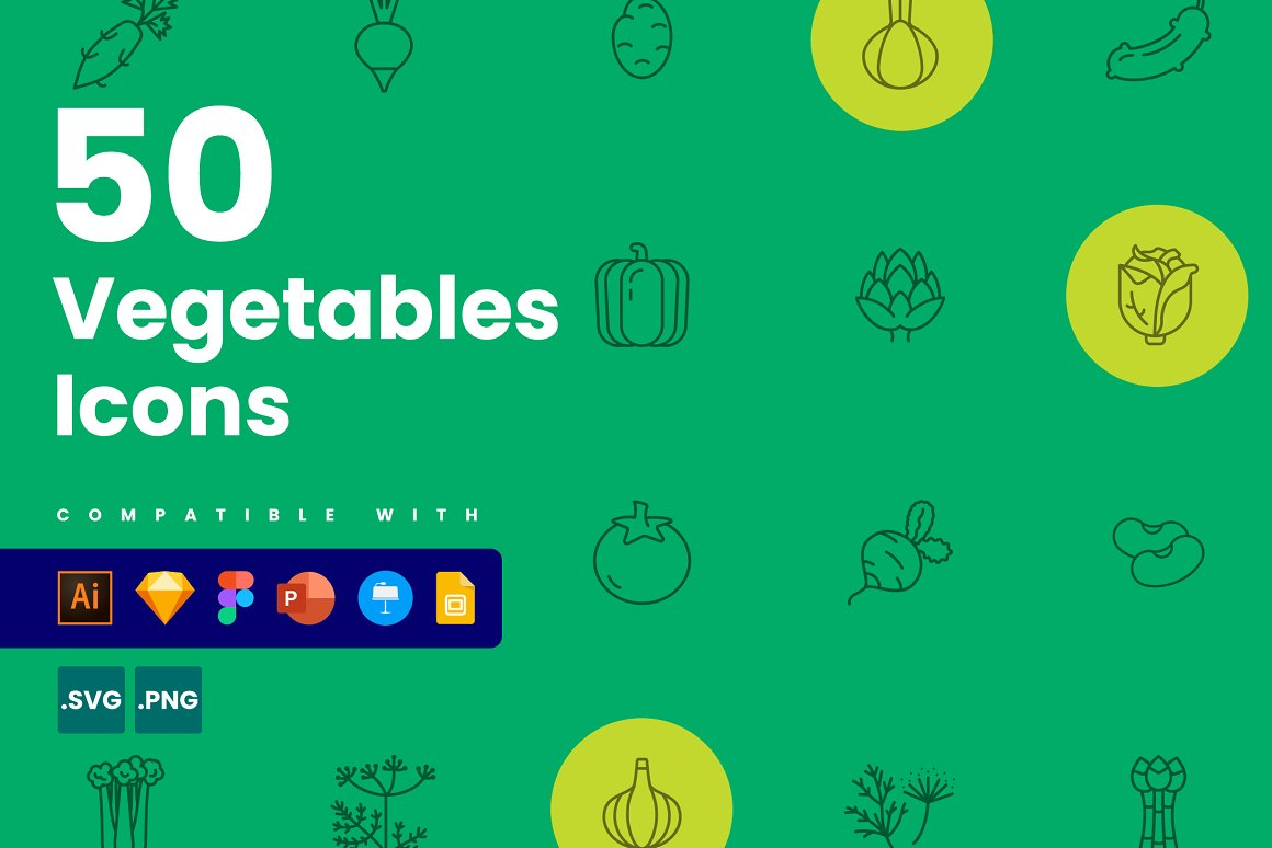 Vegetable-Icons