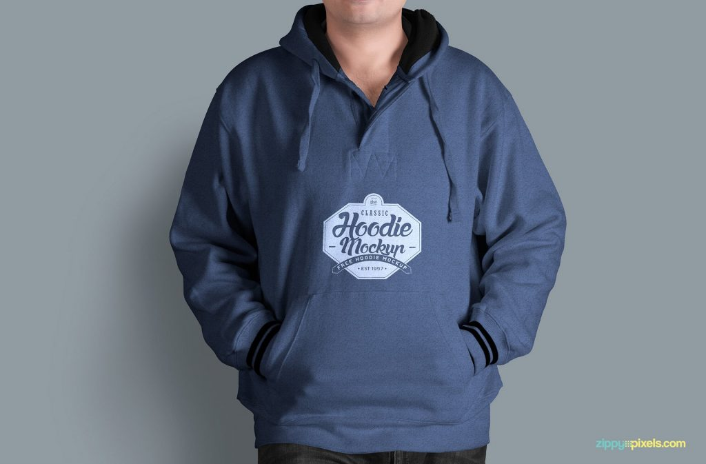 Download 25+ Best Hoodie PSD Mockup Templates | Decolore.Net