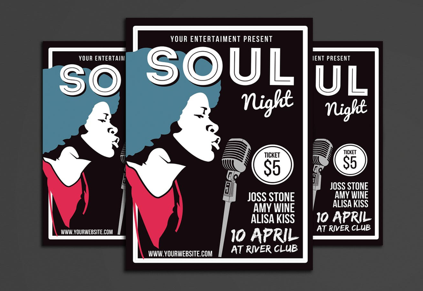 40 timeless music band flyer templates decolore net