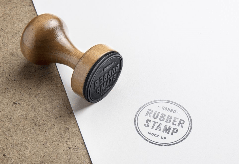 15 rubber stamp and paper mockup templates decolore net