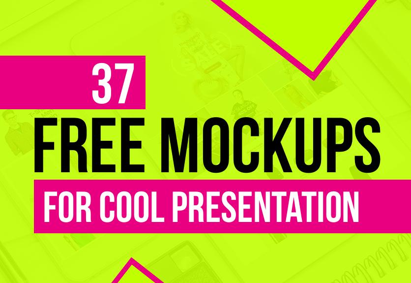 37 latest free psd mockup templates decolore net