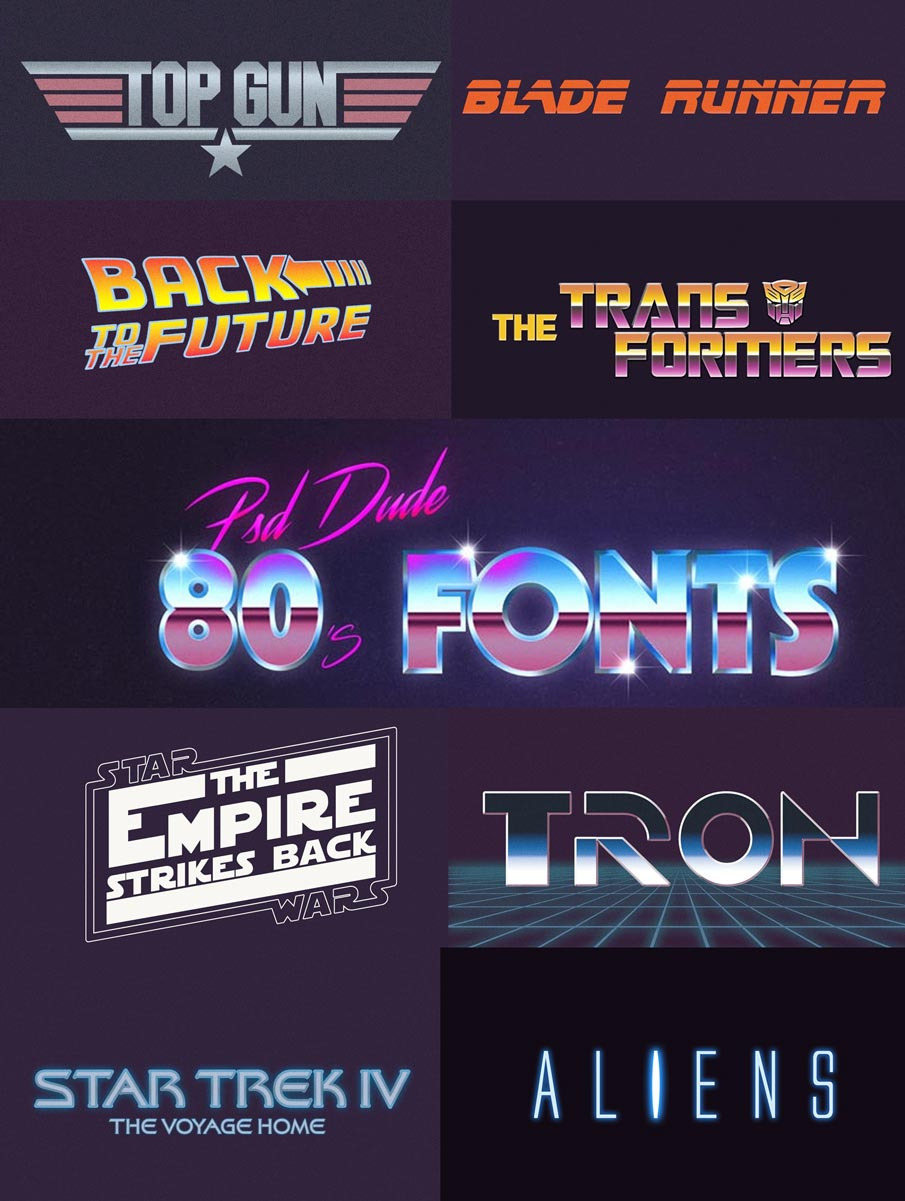 30+ Retro Vintage Text Effects for Illustrator & Photoshop