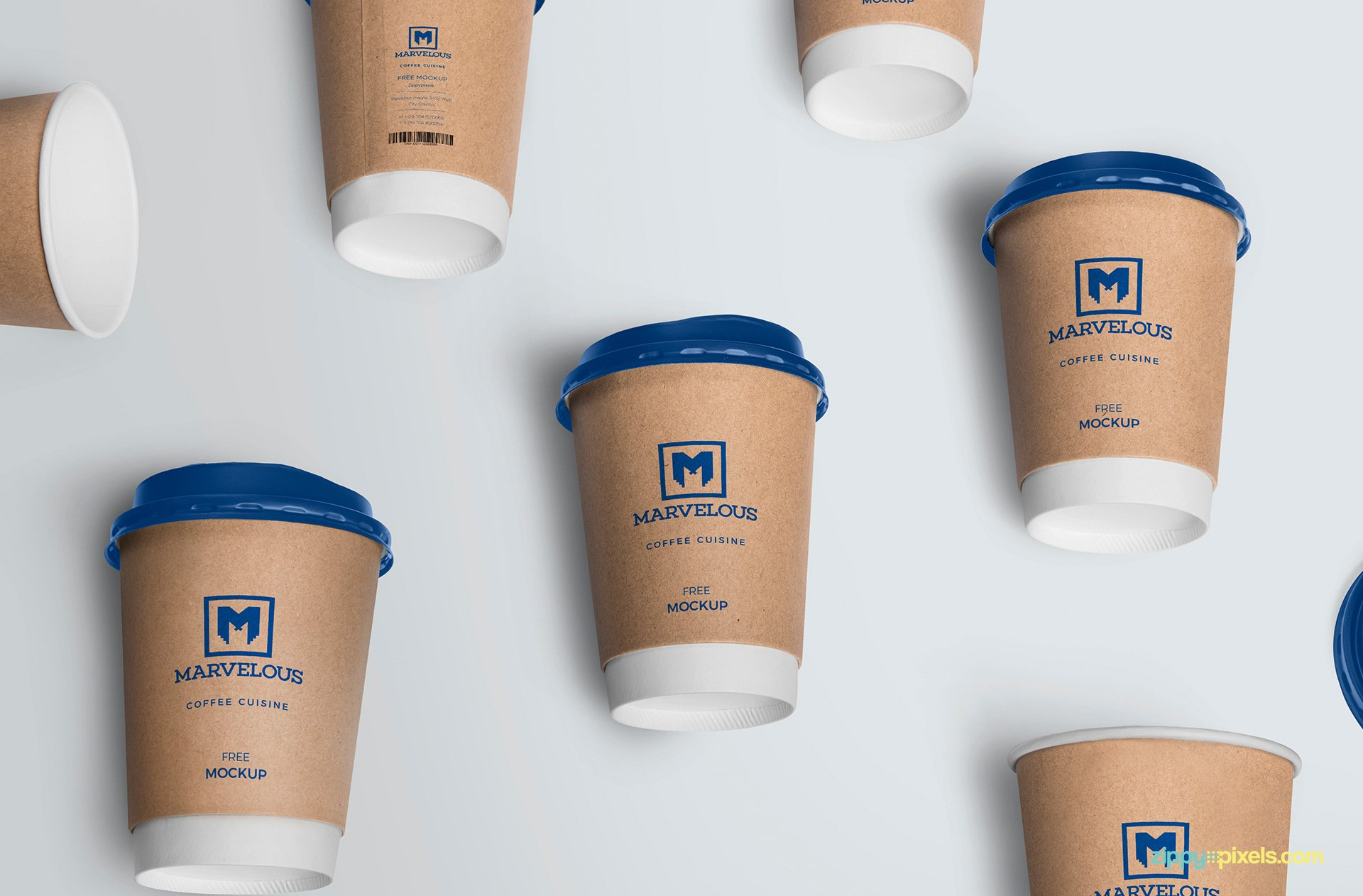 75+ Best Paper Coffee Cup Mockup Templates | Decolore.Net