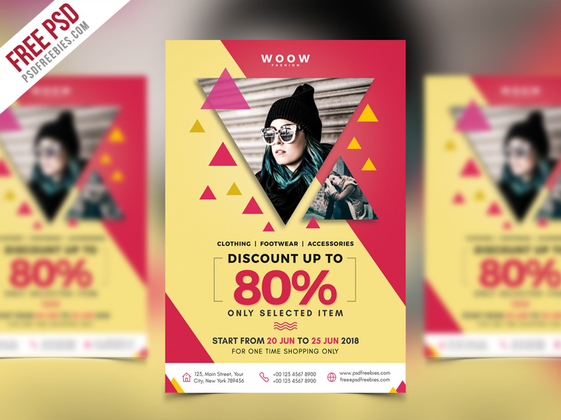35 vibrant fashion flyer templates and designs decolore fashion sale promotion flyer psd template maxwellsz
