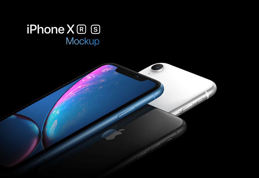 60 Fabulous Iphone Xs Xr Xs Max Mockup Templates