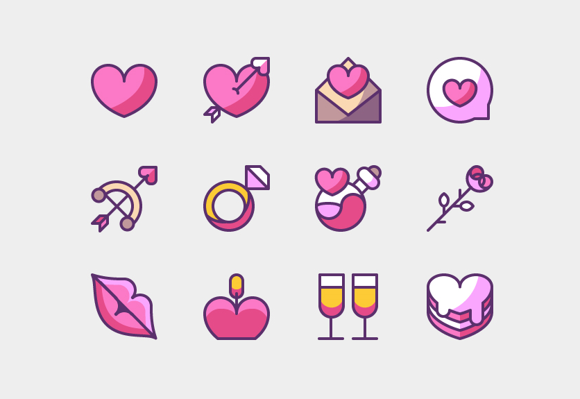 45 Super Cute Love Icons Best For Valentine S Day Decolore Net