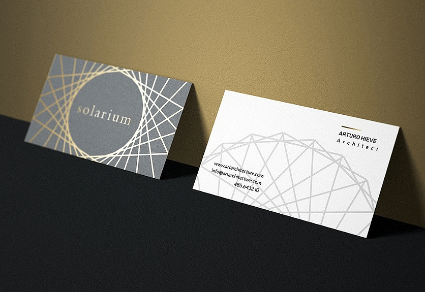 15 Creative Business Card Templates For Architects Decolore