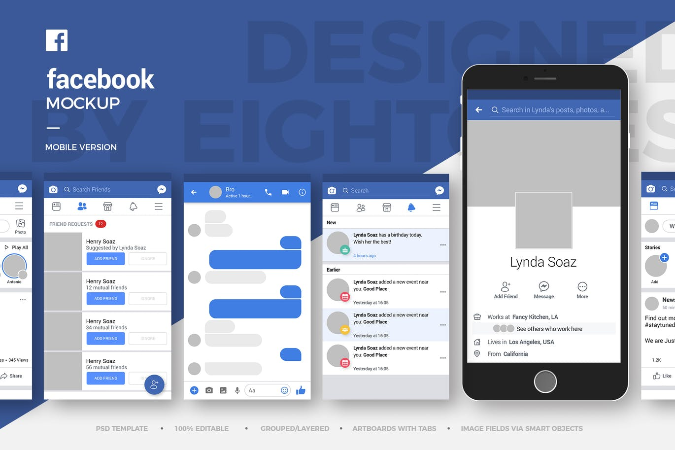 20+ Facebook Page Branding Mockup Templates | Decolore Net