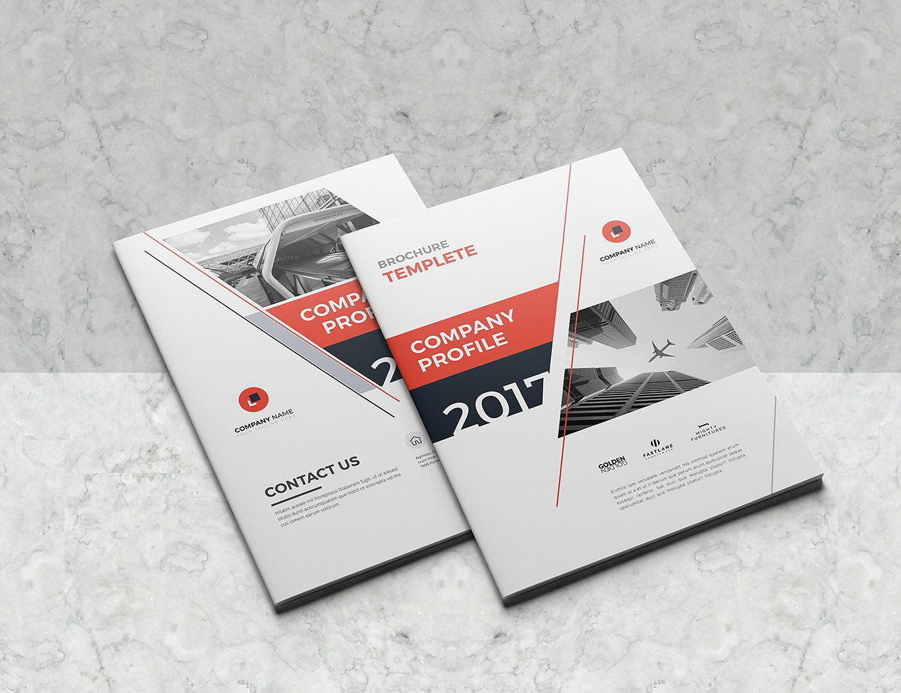 30  company profile brochure templates