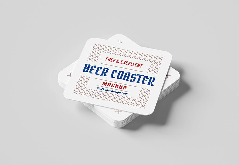 30+ Best Coaster Mockup PSD Templates | Decolore Net
