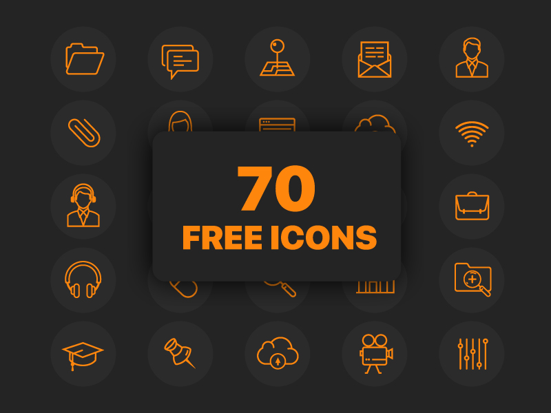 17 Awesome Free Icon Sets for Creative Designers   Decolore Net