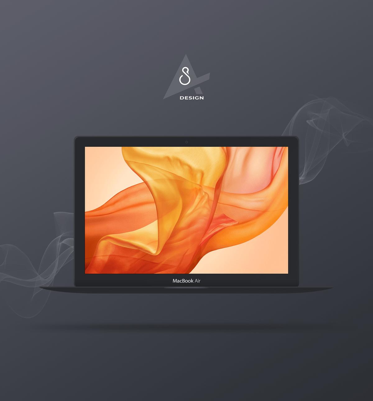 60+ Apple Macbook / PRO & Air Mockup Templates | Decolore Net