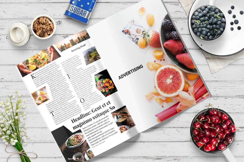30 Creative Magazine Templates For Adobe Indesign Decolore Net