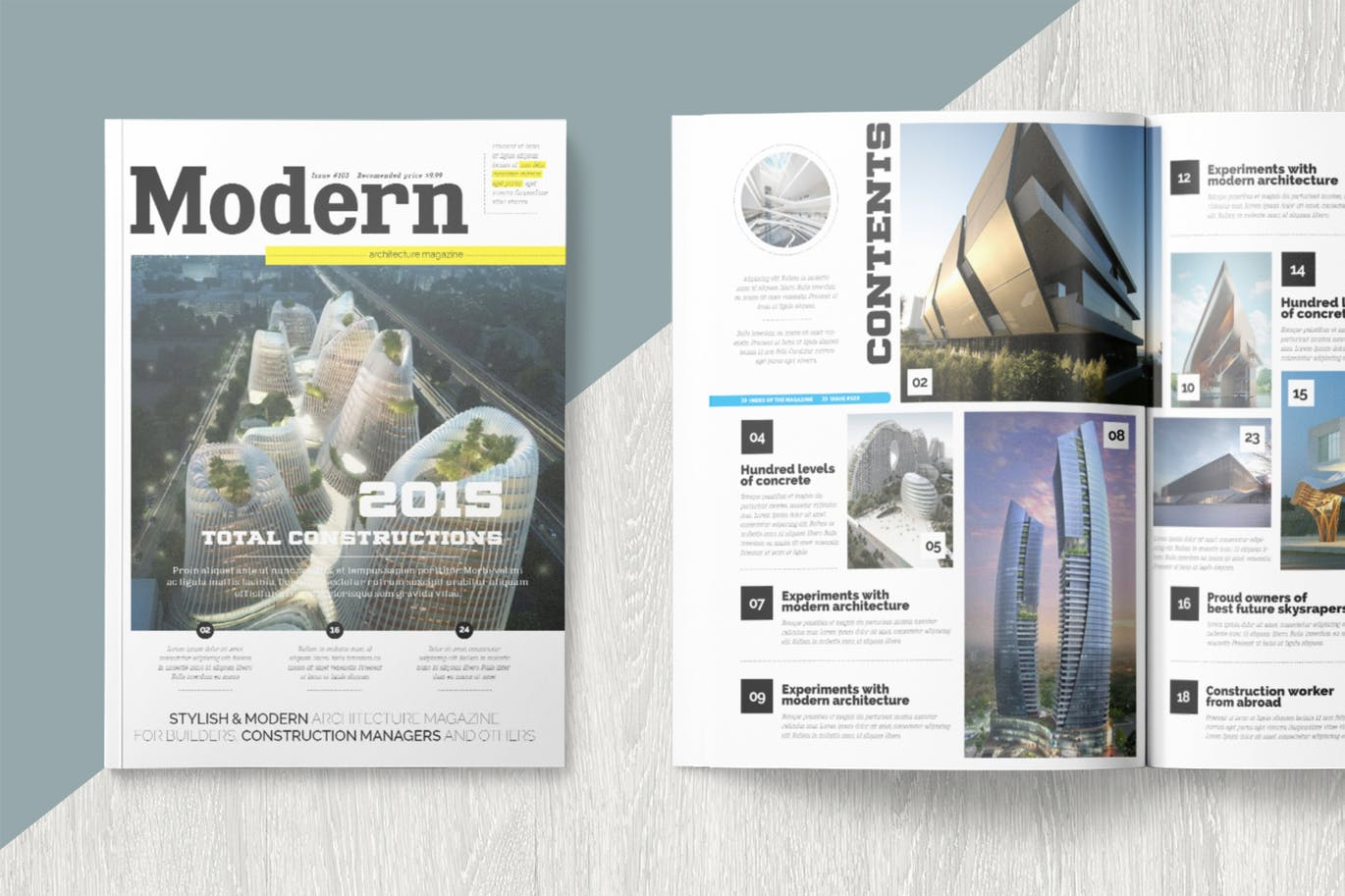 30+ Creative Magazine Templates for Adobe InDesign | Decolore Net