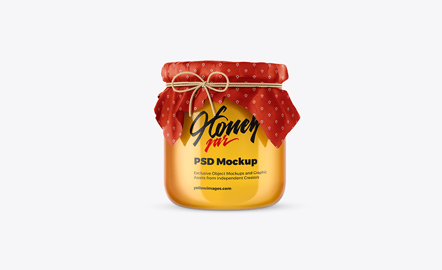 Download 20 Super Realistic Honey Jar Psd Mockups Decolore Net PSD Mockup Templates