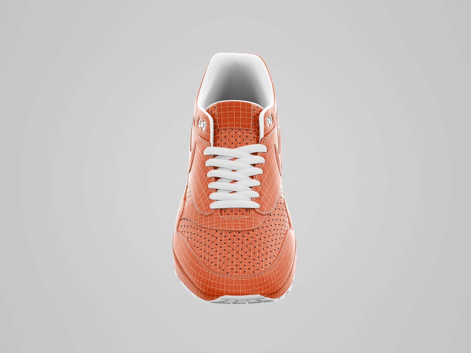 brand new 0e892 6109c Free Shoes Mockup PSD