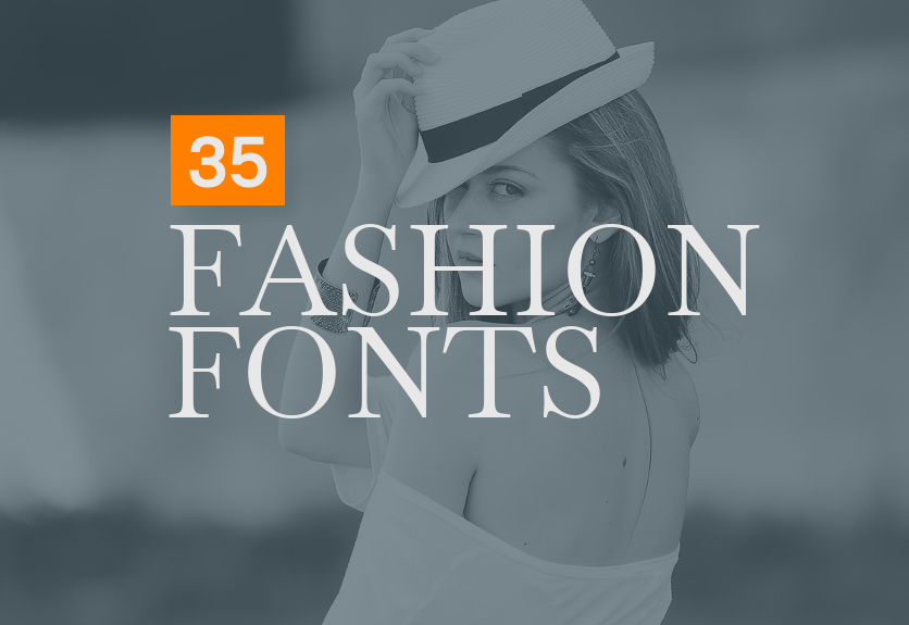 35+ Outstanding Fashion Fonts for Designers | Decolore Net