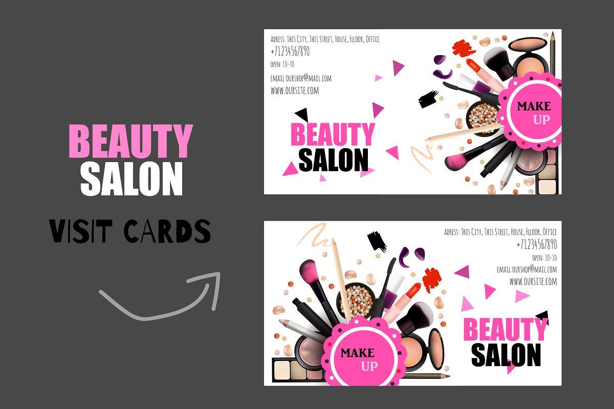 20 Versatile Beauty Salon And Spa Business Cards Decolore Net