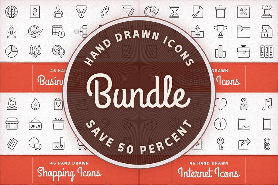 25+ Awe-Inspiring Hand Drawn Icons for Creative Design