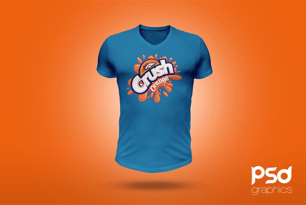 25 Stylish V Neck T Shirt Psd Mockup Templates Decolore Net
