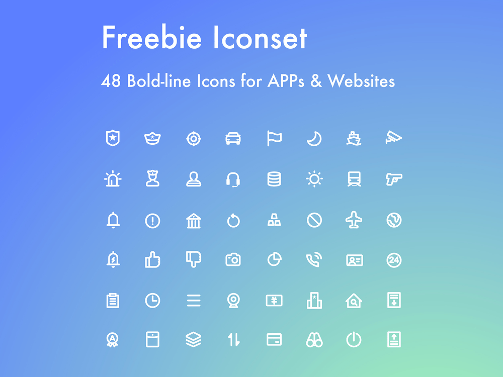 22 Latest Handsomely Created Icons (Free Download) | Decolore Net