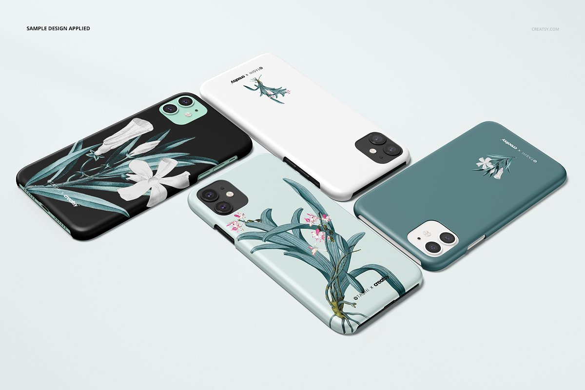 mockup cover iphone