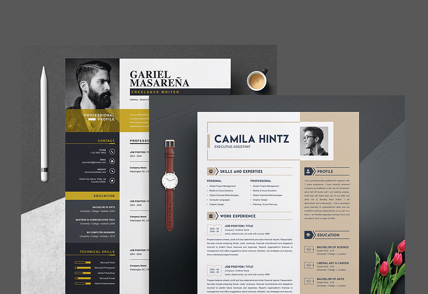 Top 15 Resume Templates For Your Employment Decolore Net
