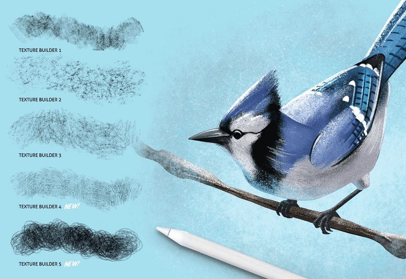 35+ Attractive Procreate Brushes for Drawing - Painting